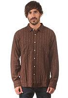 RVCA Casual Clerk L/S Shirt cocoa