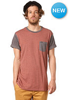 RVCA Change Up S/S T-Shirt henna heather