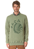 RVCA Chief Crew Sweat myrtle green