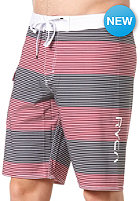 RVCA Civil Trunk 20 Zoll Boardshort white/black/red