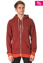 RVCA Clarc II Knit Jacket brick red