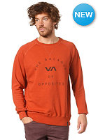 RVCA Crew Color Sweat henna