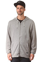 RVCA Crucial Hooded Zip Sweat grey noise