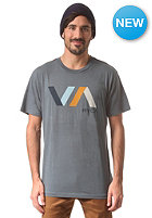 RVCA Diagonals VA S/S T-Shirt dark slate