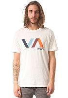 RVCA Diagonals VA S/S T-Shirt vintage white