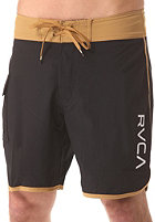 RVCA Eastern Trunk 18 Boardshort black/wheat