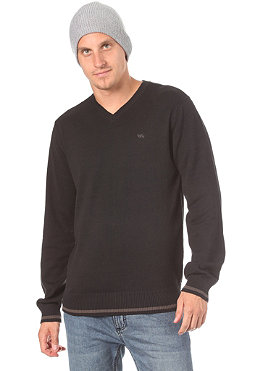RVCA Elroy V-Neck Sweatshirt black