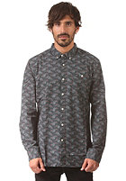RVCA Fever Flower L/S Shirt coalmine