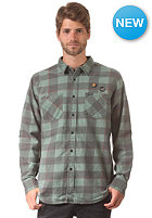 RVCA Fletcher Flannel L/S Shirt duck green