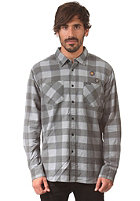 RVCA Fletcher Flannel L/S Shirt grey noise