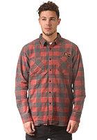 RVCA Fletcher Flannel L/S Shirt ketchup