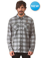 RVCA Fletcher Flannel Longsleeve grey noise