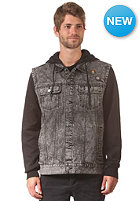 RVCA Fletcher Trucker Jacket black acid