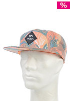 RVCA Fronds Adjustable Cap leather brown