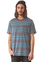 RVCA Hairy Stripe Crew S/S T-Shirt shark