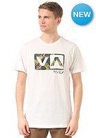 RVCA Jungle Balance Box S/S T-Shirt vintage white
