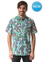 RVCA Jungle Leaves S/S Shirt peacock