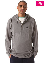 RVCA Liability Hooded Shirt dark grey