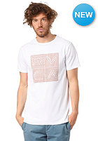 RVCA Lines And Lines S/S T-Shirt white