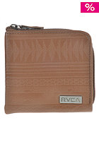 RVCA Port Zip Wallet tan