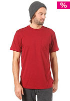 RVCA PTC Jersey red grease