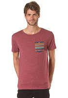 RVCA Ridge S/S T-Shirt biking red