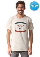 RVCA Rounded Hex S/S T-Shirt silver bleach