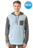 RVCA Set Up Hooded Sweat blue grey