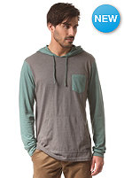 RVCA Set Up Hooded Sweat grey noise