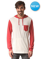 RVCA Set Up Hooded Sweat vanilla heather