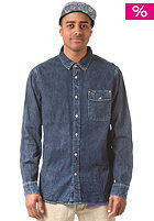 RVCA Shining L/S Shirt denim blue