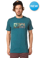 RVCA The Woods S/S T-Shirt dirty teal