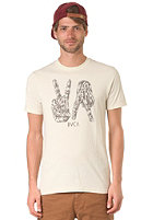 RVCA VA Fingers S/S T-Shirt amond tea