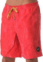 RVCA Waxer Volley Boardshort pompei red