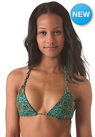 RVCA Womens Anchora Bikini Top seagreen print