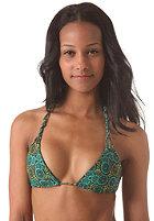 RVCA Womens Anchora Triangle Bikini Top seagreen print