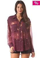 RVCA Womens Ani L/S Shirt purple haze