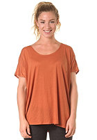 RVCA Womens Boot S/S T-Shirt amber