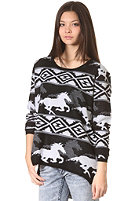 RVCA Womens Buddy Knit Sweat black