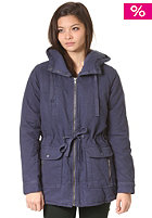 RVCA Womens Camp Jacket navy