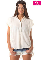 RVCA Womens Chipper S/S Shirt vintage white