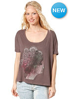 RVCA Womens Curls S/S T-Shirt shale