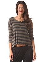 RVCA Womens Frolicsome Top olive