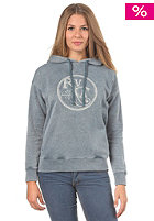 RVCA Womens Fruit Hooded Zip Sweat bourgeois blue