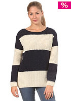 RVCA Womens Gold Love Jumper navy