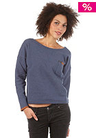 RVCA Womens Lazy Day Top navy heather