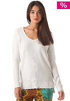 RVCA Womens Lengths Jumper vintage white