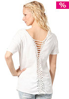 RVCA Womens Liquid Time Top vintage white