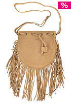 RVCA Womens Piper Fringe Hobo Bag tan