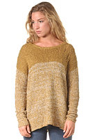 RVCA Womens Popol Knit Sweat bronze
